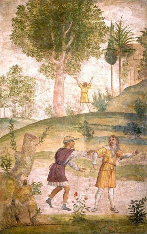 The Despair of Cephalus | Bernardino Luini | Oil Painting