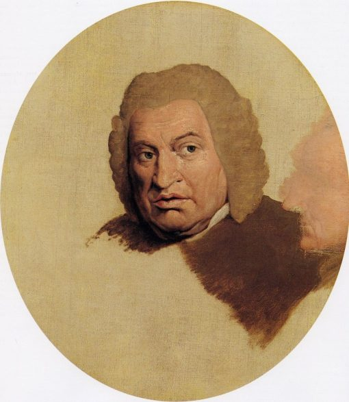 Dr Samuel Johnson (unfinished)   James Barry   Oil Painting