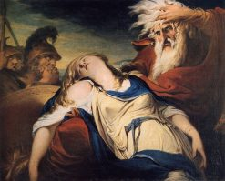 King Lear Weeping over the Body of Cordelia | James Barry | Oil Painting