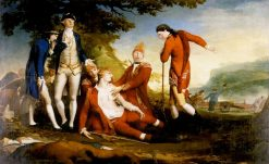 The Death of General Wolfe   James Barry   Oil Painting