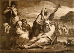 Job Reproved by his Friends   James Barry   Oil Painting