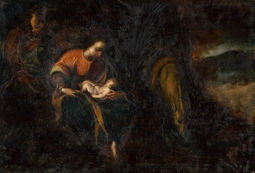 Holy Family | Lodovico Carracci | Oil Painting