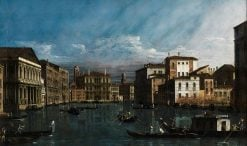 The Grand Canal in Venice | Bernardo Bellotto | Oil Painting