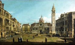 The Campo Santa Maria Formosa | Bernardo Bellotto | Oil Painting