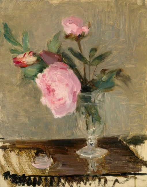 Peonies | Berthe Morisot | Oil Painting