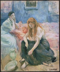 Two Girls | Berthe Morisot | Oil Painting
