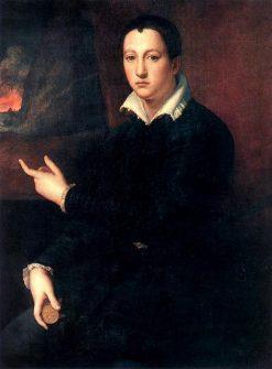 Cosimo I de'Medici | Agnolo Bronzino | Oil Painting