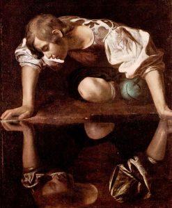Narcissus | Caravaggio | Oil Painting