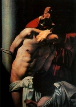 Christ at the Column | Caravaggio | Oil Painting