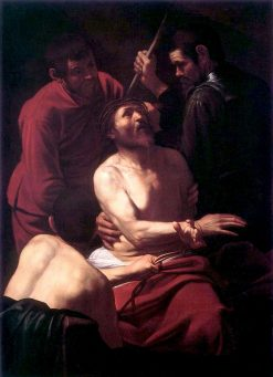Christ Crowned with Thorns | Caravaggio | Oil Painting