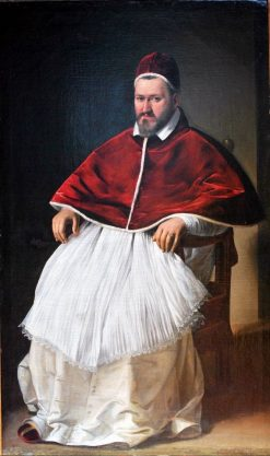Portrait of Pope Paul V | Caravaggio | Oil Painting