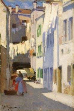 Street Scene | Clarence Gagnon | Oil Painting