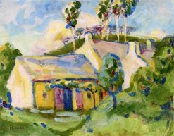 House on the Hill | Emily Carr | Oil Painting
