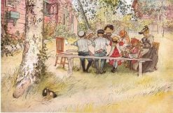 Breakfast under the Big Birch | Carl Larsson | Oil Painting