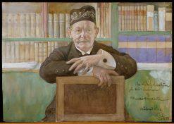 Ludvig Looström | Carl Larsson | Oil Painting