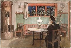 When the Children have Gone to Bed | Carl Larsson | Oil Painting
