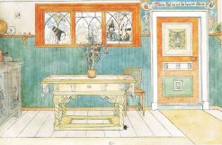 The Dining Room | Carl Larsson | Oil Painting