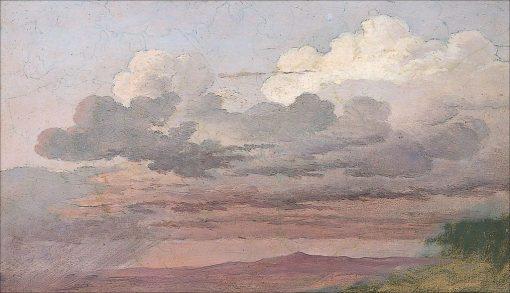 Cloud Study | Caspar David Friedrich | Oil Painting