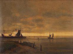 Coastal Landscape | Caspar David Friedrich | Oil Painting