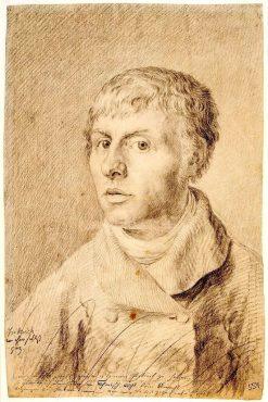 Self-Portrait | Caspar David Friedrich | Oil Painting