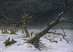 Winter Landscape | Caspar David Friedrich | Oil Painting