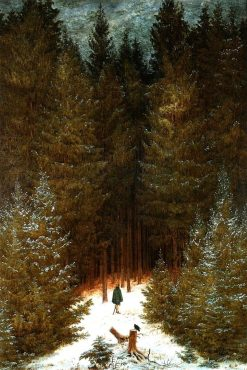 Hunter in the Forest | Caspar David Friedrich | Oil Painting