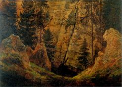 Rocky Valley | Caspar David Friedrich | Oil Painting