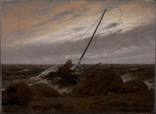 After the Storm | Caspar David Friedrich | Oil Painting