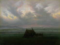 Waft of Mist | Caspar David Friedrich | Oil Painting