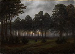 The Times of Day: The Evening | Caspar David Friedrich | Oil Painting