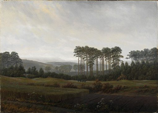The Times of Day: The Afternoon | Caspar David Friedrich | Oil Painting