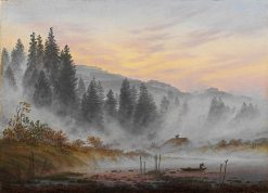 The Times of Day: The Morning | Caspar David Friedrich | Oil Painting