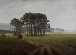 The Times of Day: The Midday | Caspar David Friedrich | Oil Painting