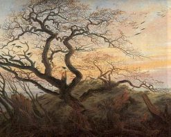 Tree of Crows | Caspar David Friedrich | Oil Painting