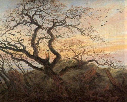 Tree of Crows | Caspar David Friedrich | Oil Painting