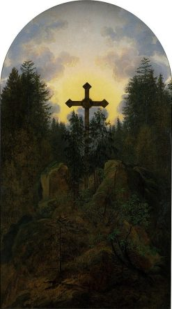 Cross in the Mountains | Caspar David Friedrich | Oil Painting