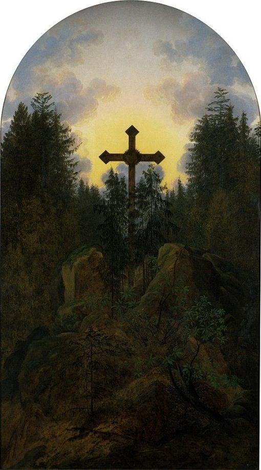 Cross in the Mountains | Caspar David Friedrich | Oil Painting
