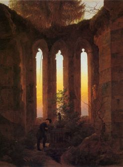 Huttens Grave | Caspar David Friedrich | Oil Painting