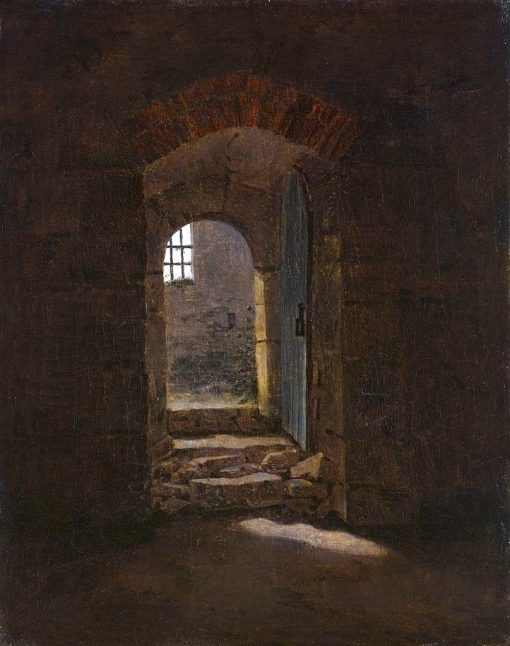 Doorway in Meissen | Caspar David Friedrich | Oil Painting