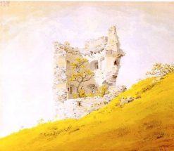 Ruins of Teplitz Castle | Caspar David Friedrich | Oil Painting