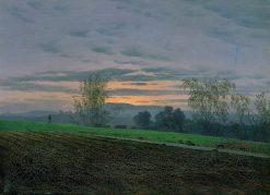 Plowed Field | Caspar David Friedrich | Oil Painting