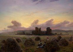 Rest at the Hay Harvest | Caspar David Friedrich | Oil Painting