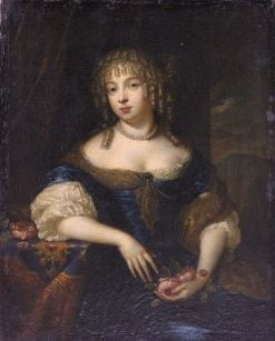 Portrait of a Woman | Caspar Netscher | Oil Painting