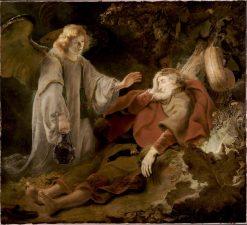 Angel Appearing to Elijah | Ferdinand Bol | Oil Painting