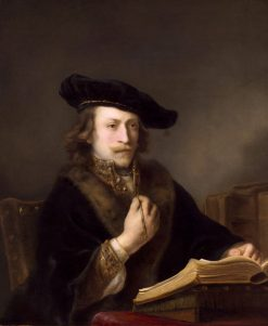 Man with a Book | Ferdinand Bol | Oil Painting
