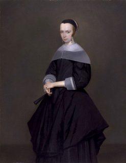 Elegant Woman | Gerard ter Borch | Oil Painting