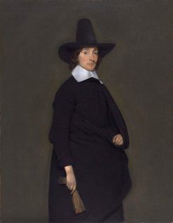 Elegant Man | Gerard ter Borch | Oil Painting