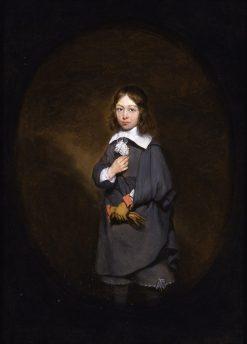 Portrait of Engel Craeyvanger | Gerard ter Borch | Oil Painting