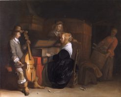 Musical Company | Gerard ter Borch | Oil Painting