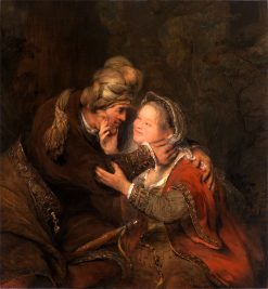 Judah and Tamar | Aert de Gelder | Oil Painting